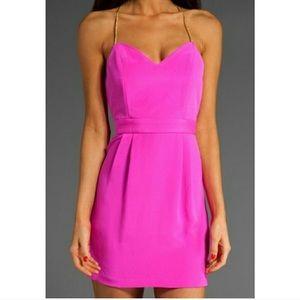 Naven hot pink dress